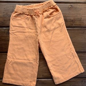 Gymboree Orange Knit Pants